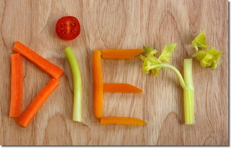 >ぽっこりお腹解消の食事の簡単なルール